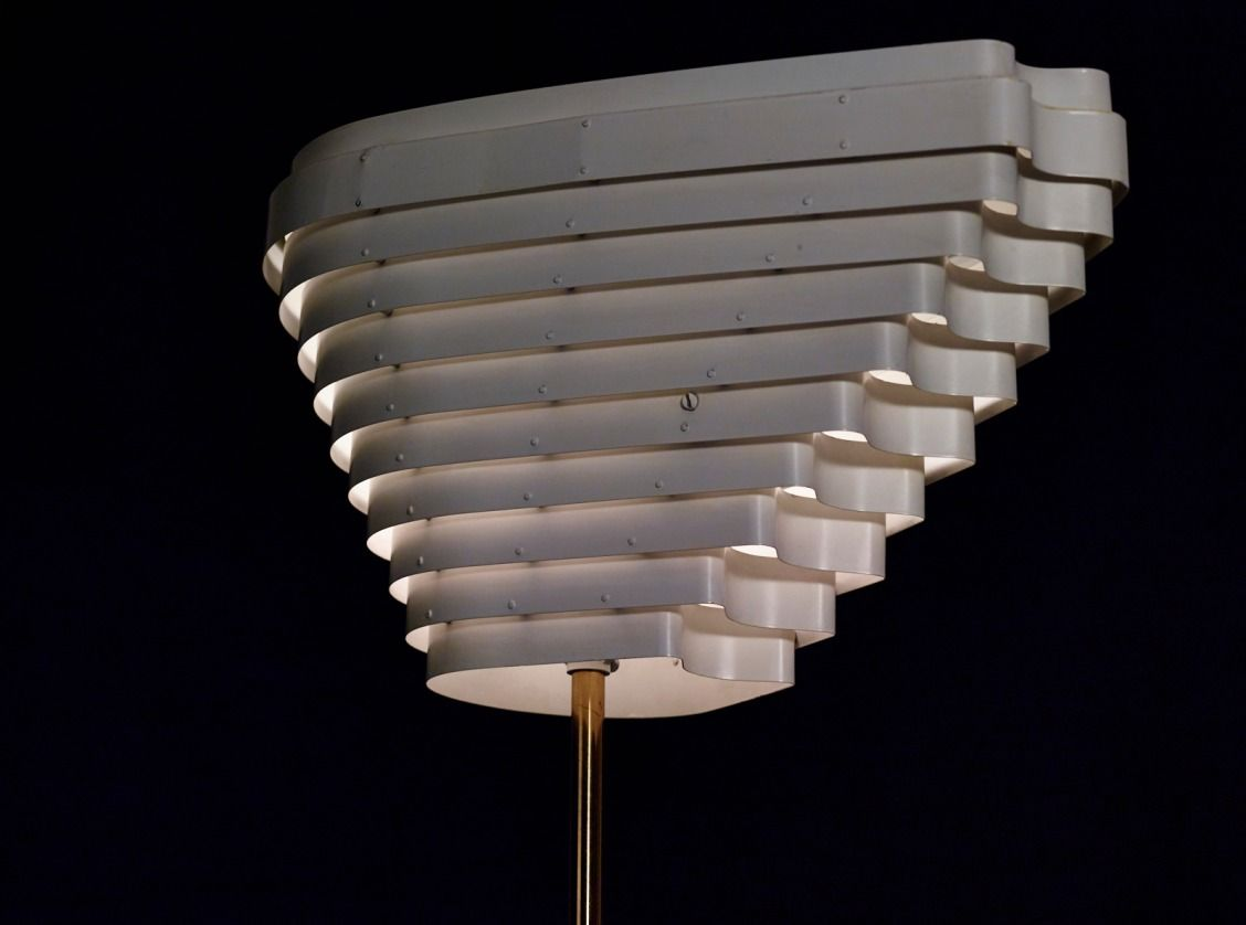 Link In Bio To Learn More About Our Early Alvar Aalto Floor Lamp, Model A805 Pictures Gallery