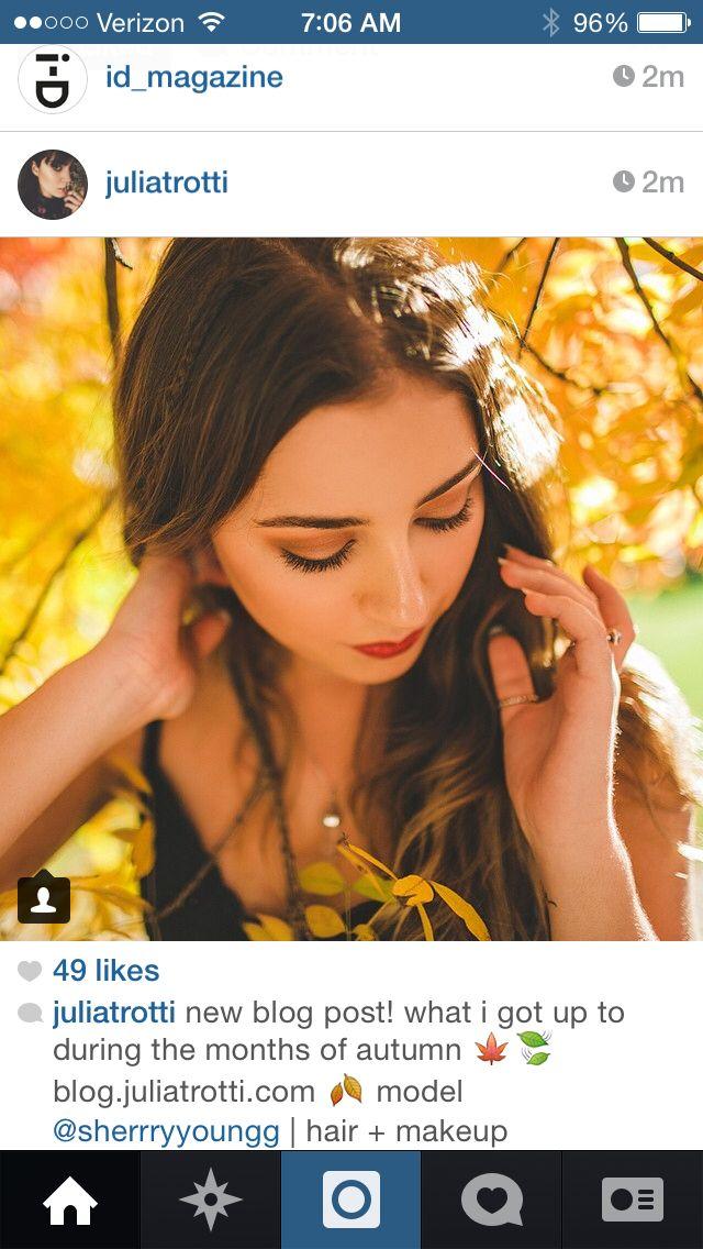 Omg this makeup! Yassss fall time