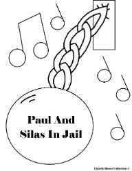 Paul And Silas In Jail Paul Amp Silas In Prison