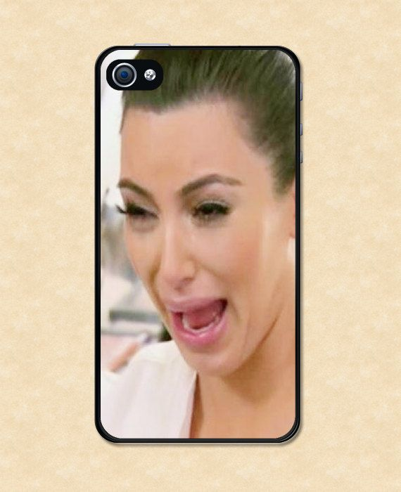 sports shoes afc62 3cf38 Kim Kardashian Crying Design Cell Phone Case for by CaseGorilla   I ...