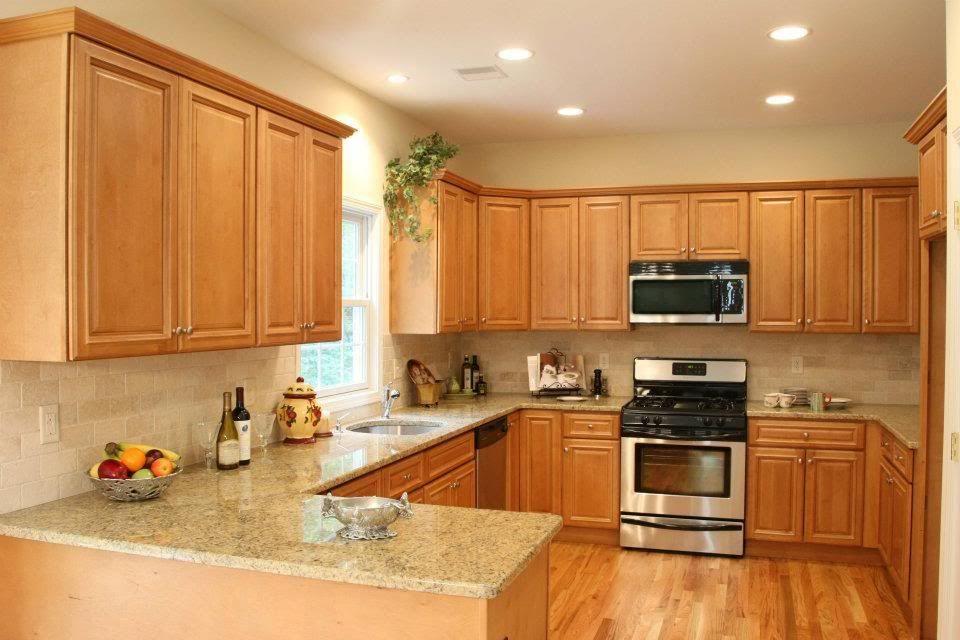 MW Heritage Red Birch | Birch kitchen cabinets ...