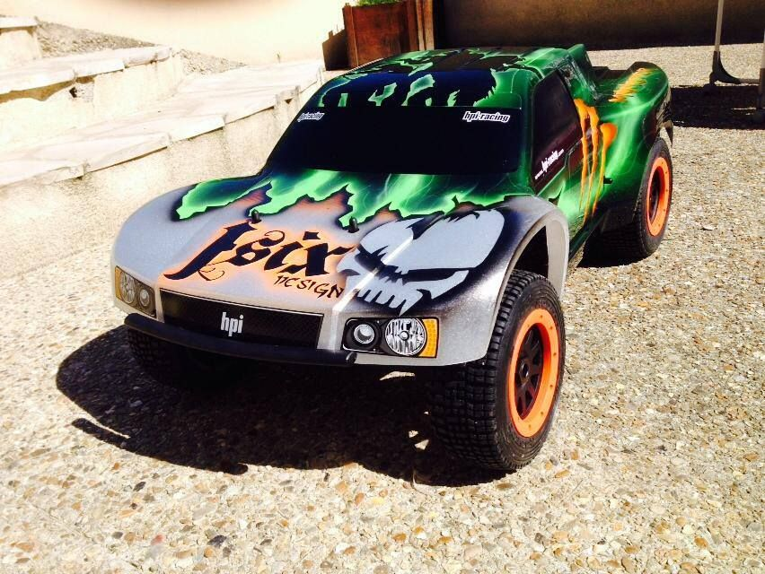 Baja SC Custom Paint Job By JSIX Paint RC Cars Pinterest - Custom vinyl decals for rc carsimages of cars painted with flames true fire flames on rc car