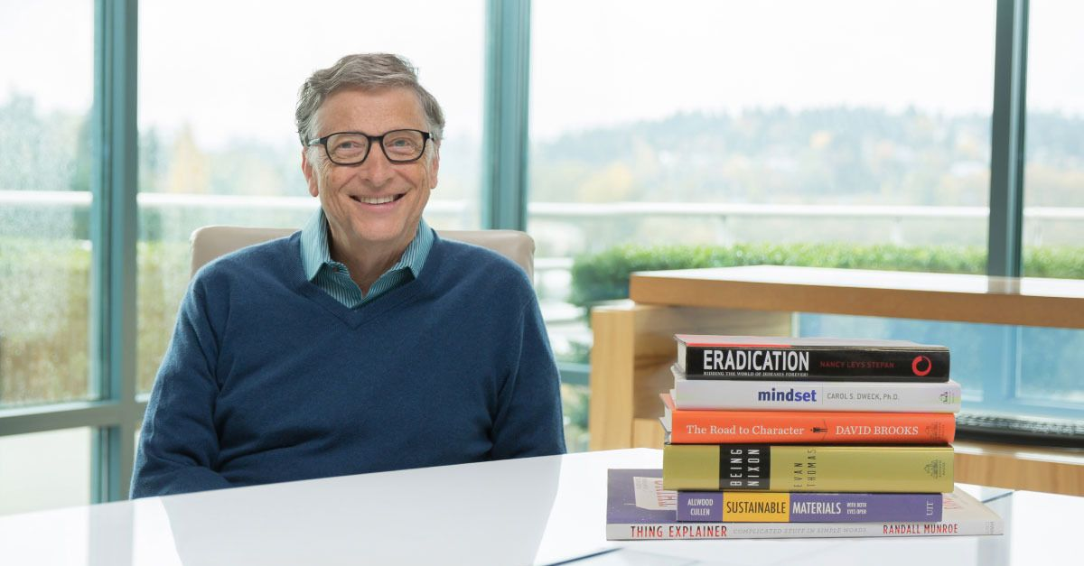 Bill Gates' favorite reads of 2015