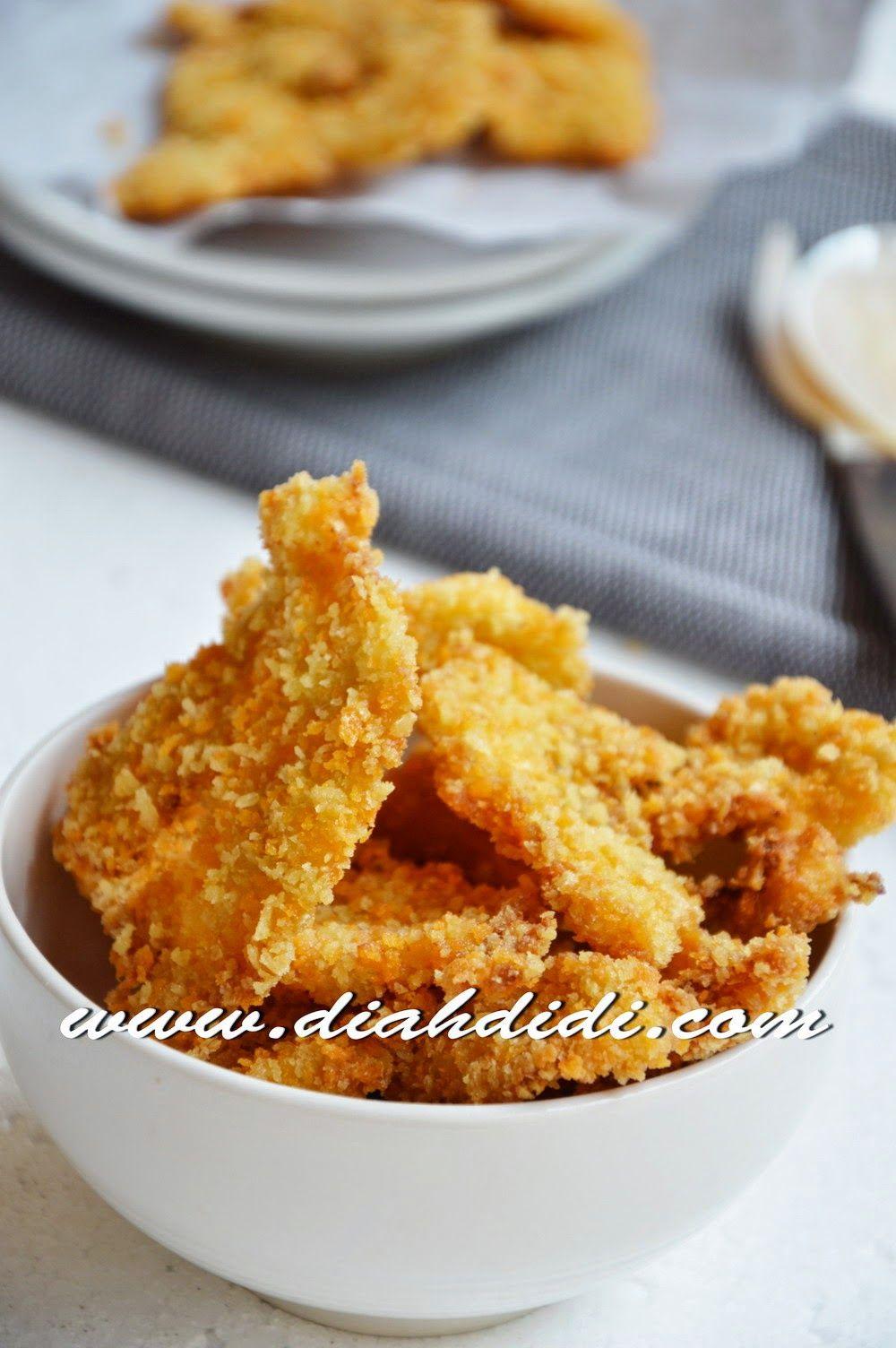 Resep Ayam Fillet Tepung : resep, fillet, tepung, Resepi, Fillet, Panir, Pawtaste.com