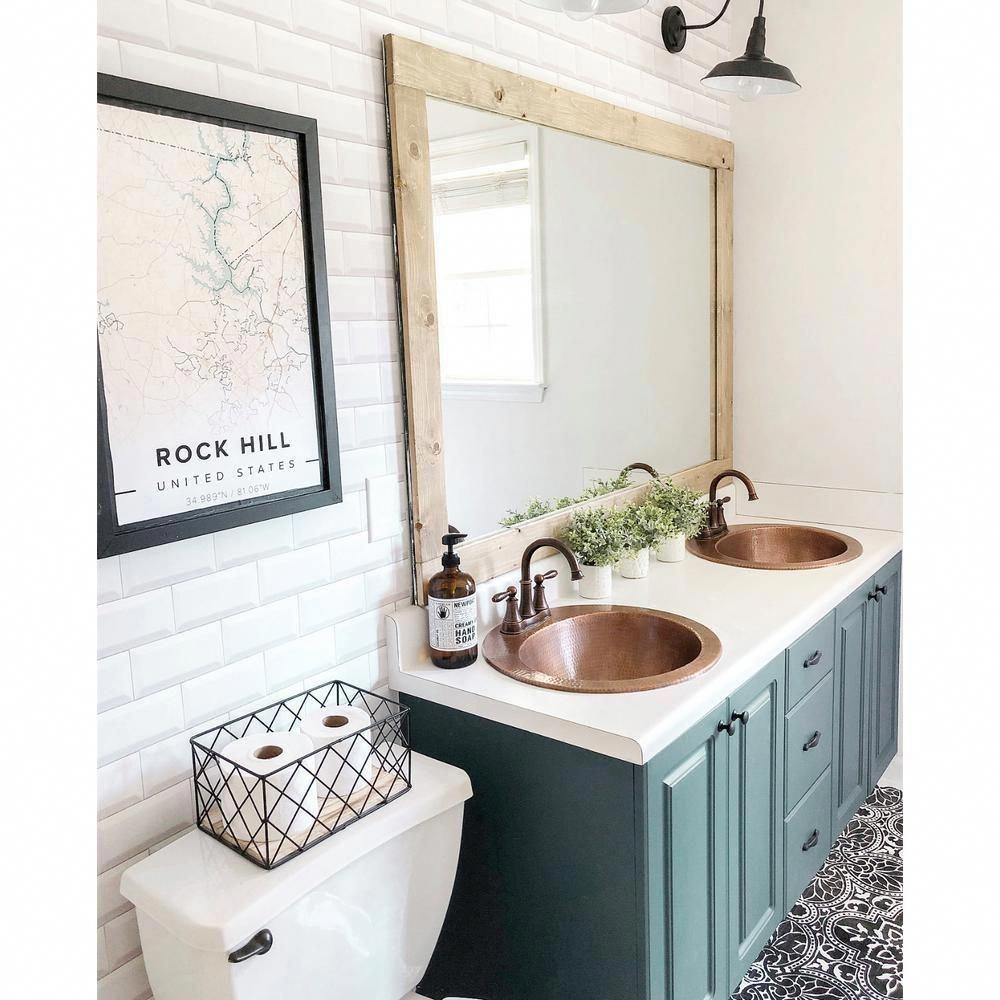 I Will Attempt This Out The Minute I M Able To Bathroom Shelf Decor In 2020 Kupfer Badezimmer Badezimmerwaschtisch Badezimmer Klein