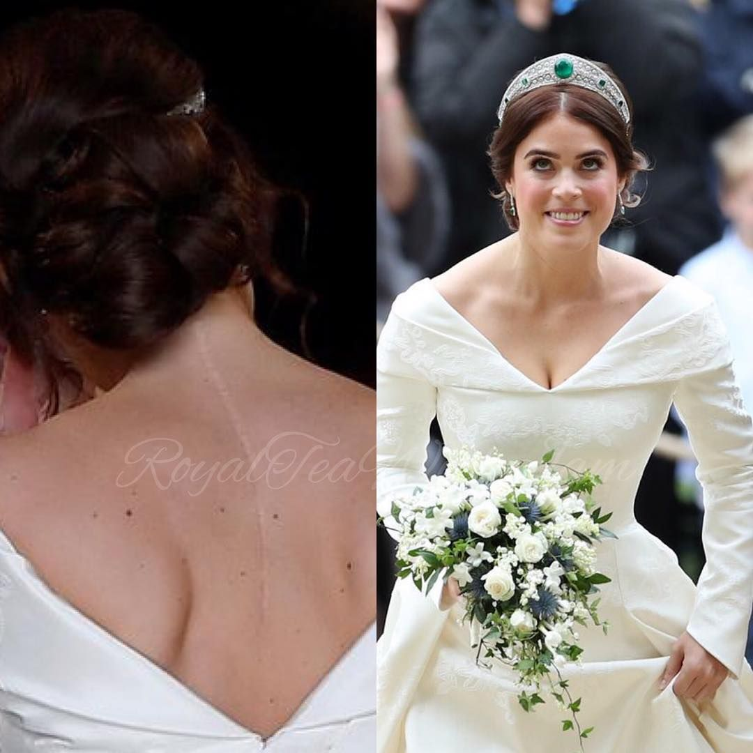 Princess Eugenie Opted Not To Wear The Wedding Veil I Shared In My Instalive During The Ceremony Princess Wedding Princess Eugenie Bridal Moment [ 1080 x 1080 Pixel ]