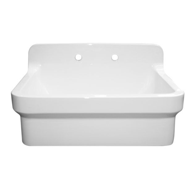 Tuscany White Laundry Cabinet Stainless Steel Sink At Menards