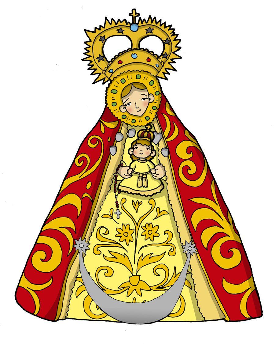 Nuestra Señora De La Caridad De Sanlúcar Fiesta 15 De Agosto Caridad Virgen De La Caridad Dibujos