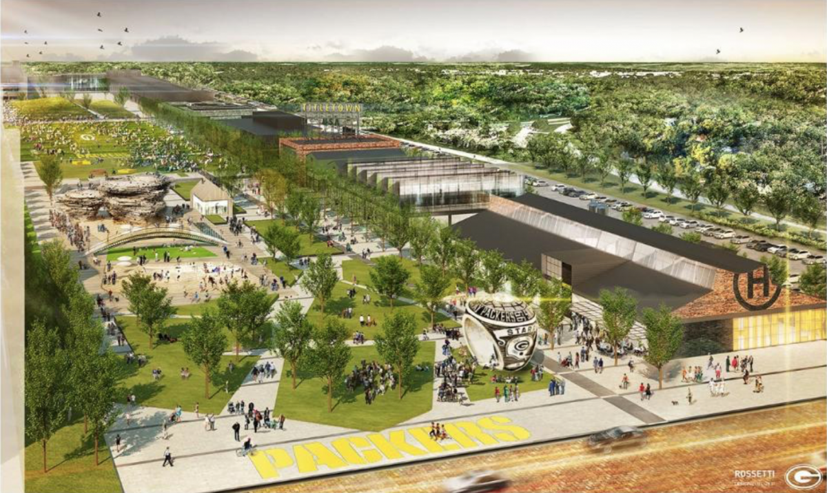 In 2017, the Green Bay Packers will debut their fan village called Titletown.