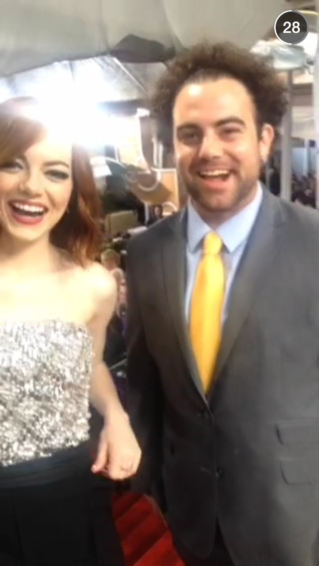 Emma Stone & Her Brother