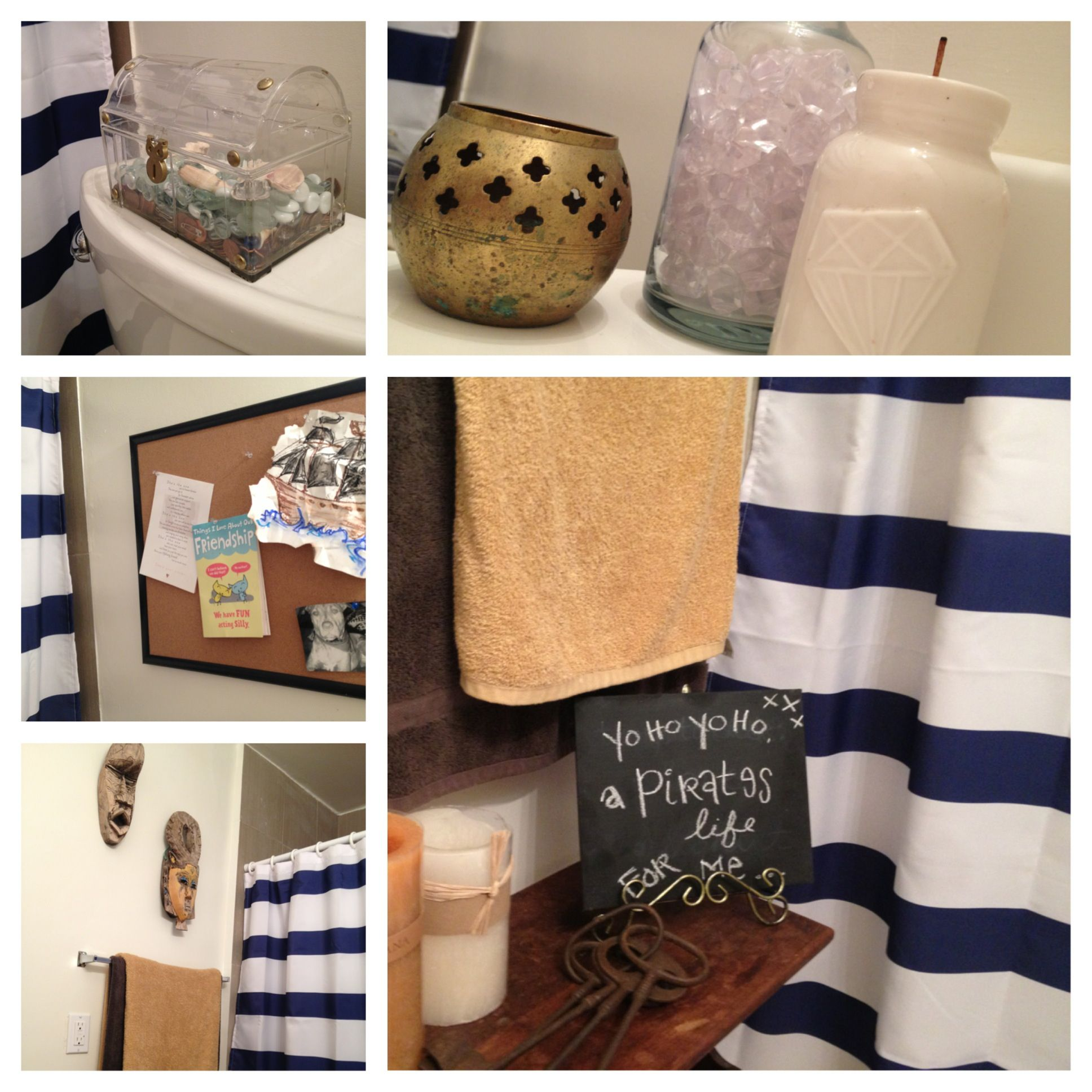Kids Bathroom Ideas For Boys And S   Pirate Themed Bathroom Diy Pirate Bathroom Dannidoesit