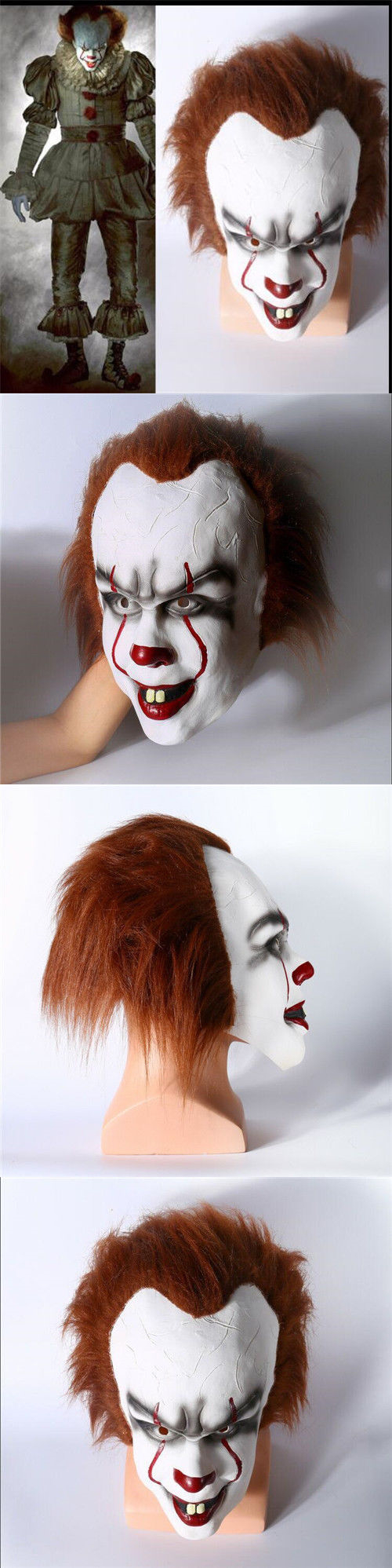 Halloween Costumes: New Pennywise Cosplay Costume Clown Customized ...