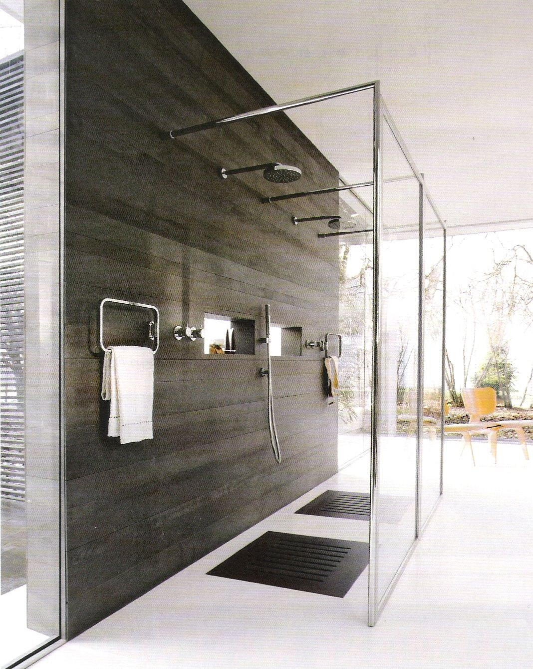 Open bathroom designs - 25 Incredible Open Shower Ideas