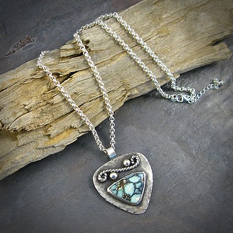 New Lander turquoise necklace