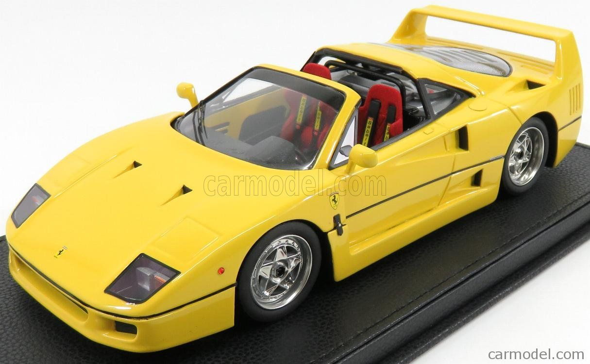 Ferrari F40 Targa Spider Street Car 1990 Base In Pelle Nera