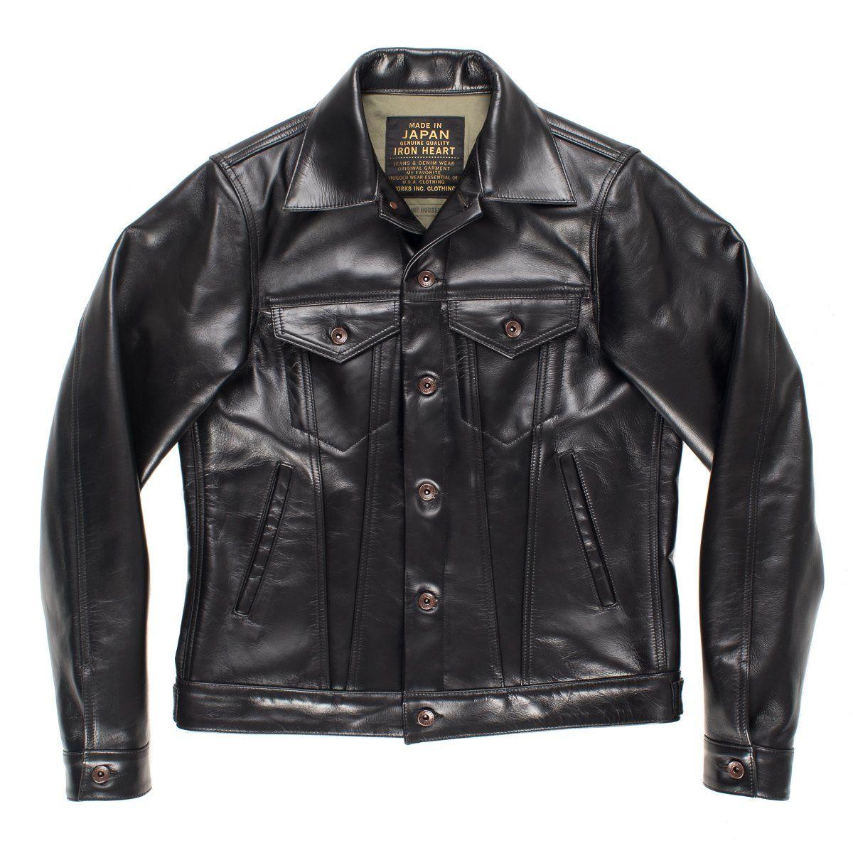 Ihj 64 Blk Jackets Iron Heart Black [ 1200 x 1200 Pixel ]