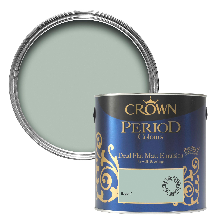 Crown Breatheasy® Flagon Matt Emulsion Paint 2.5L