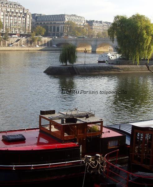 Suomalaisia lohdullisia runoja sekä kauniita kuvia Pariisista Seinen-rannoilta ja Eiffel-tornista.