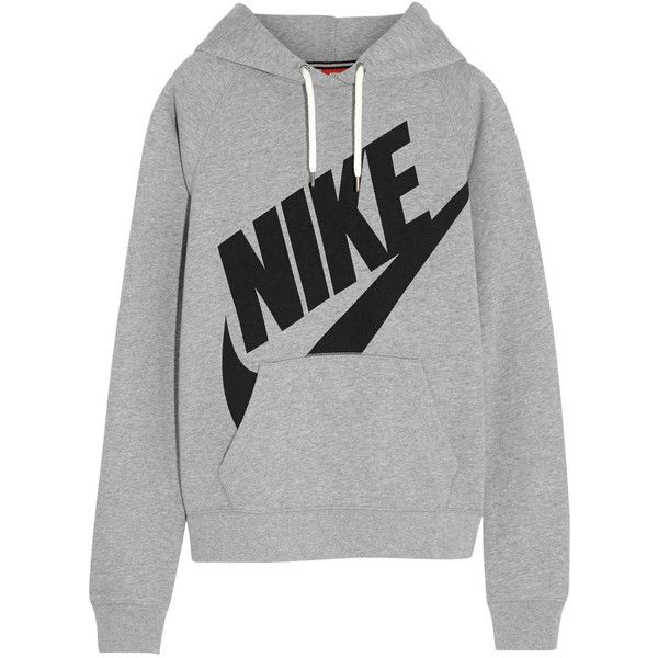 Nike Rally Futura cotton-blend jersey hooded sweatshirt, Size: M and other  apparel, accessories and trends.