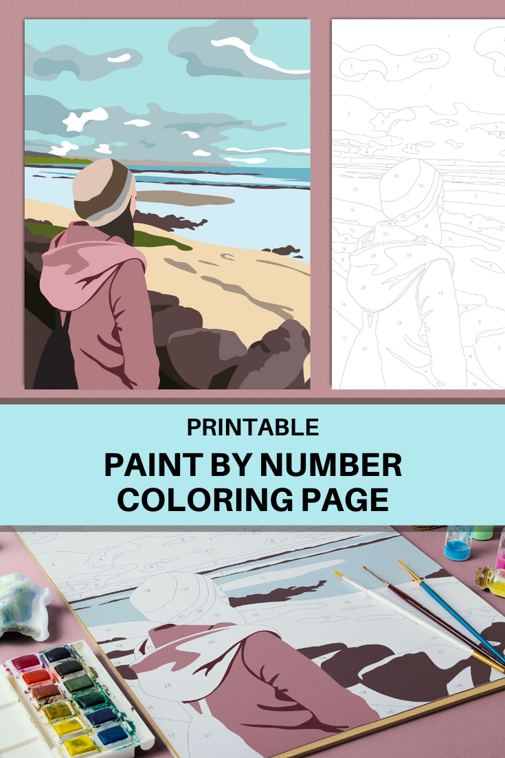 Pin On Printable Paint By Number