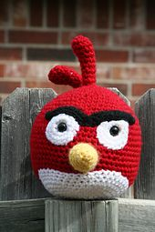 Ravelry: Angry Birds - Cardinal pattern by Adorable Amigurumi