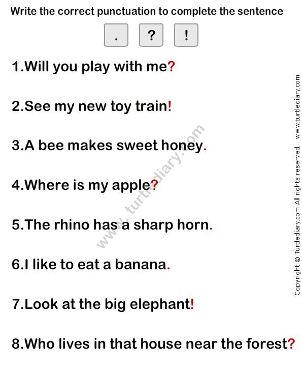 Simple Sentence Worksheet8 - esl-efl Worksheets - grade-1 ...