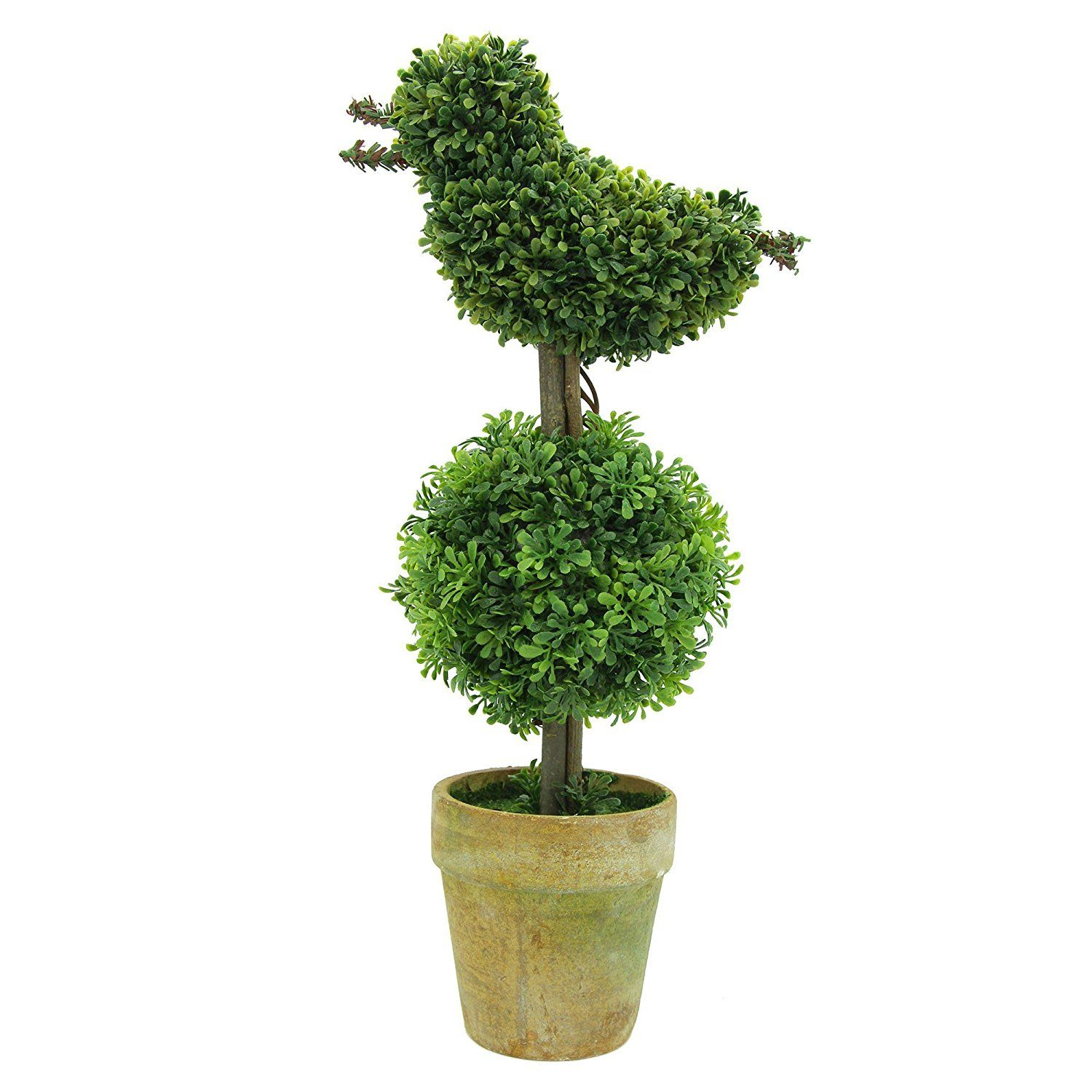 artificial plants for office decor. Keelorn Cute Bird Shape Greenery Artificial Plants And Trees , Decor Bonsai For Office Home Decorations Indoor Outdoor ( 14 Inches Green ) A