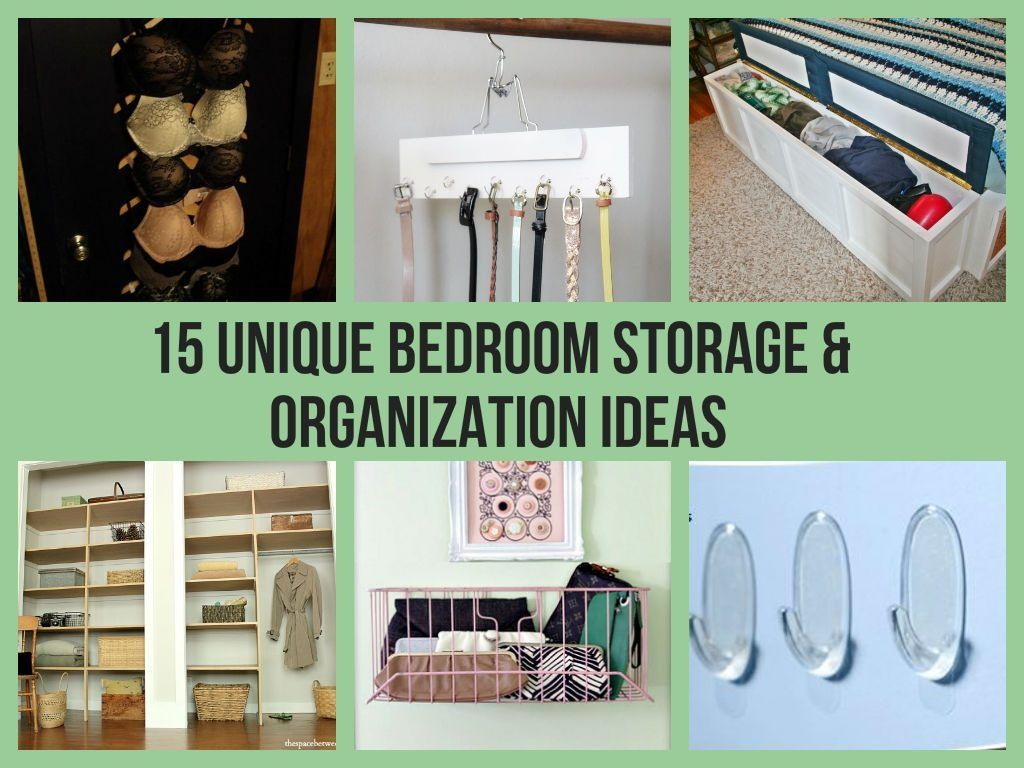 Clever Bedroom Storage Ideas Bedroom Organization Storage Diy