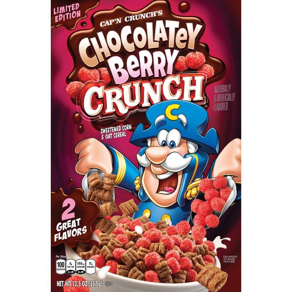 Cap'n Crunch Chocolatey Berry Breakfast Cereal