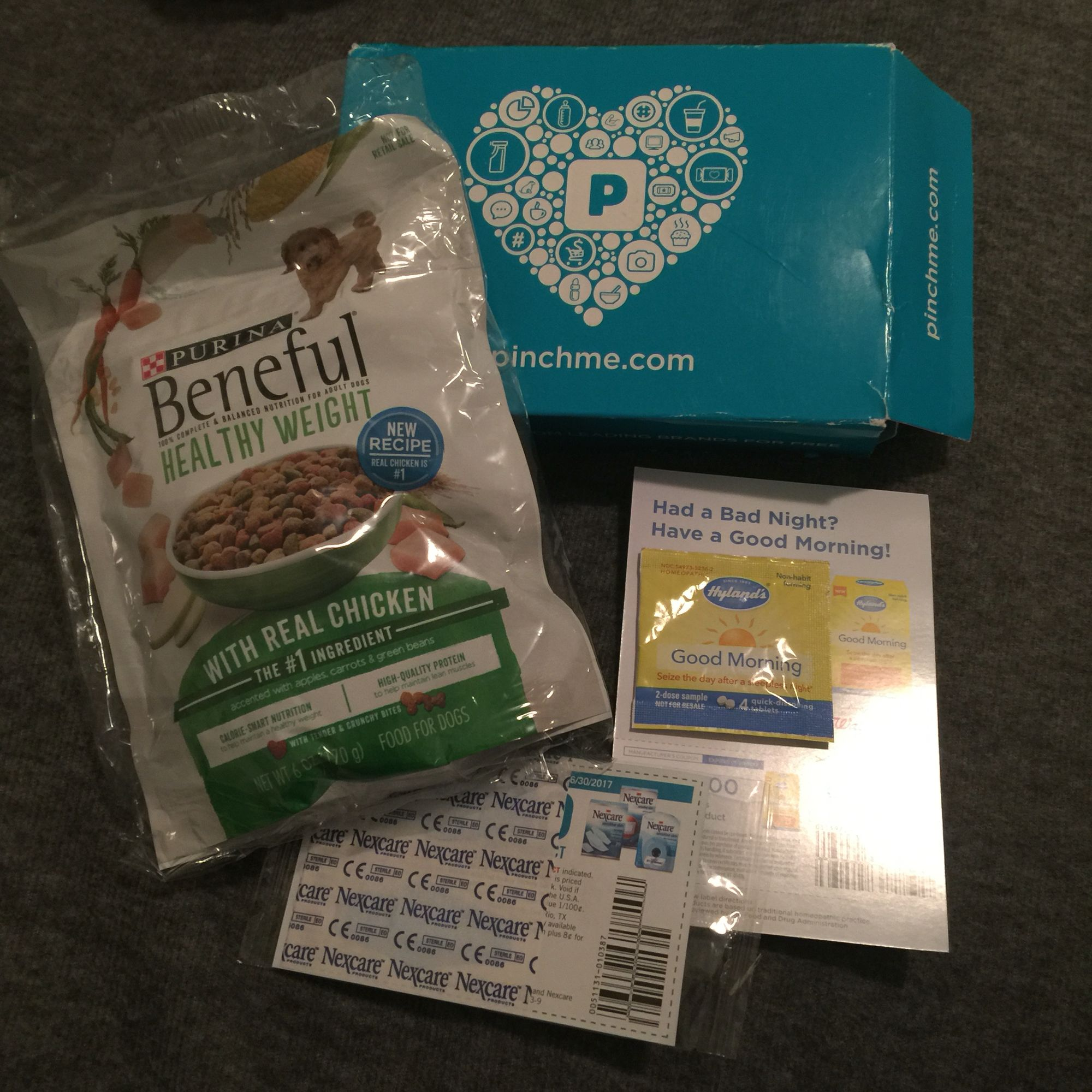 My First Pinch Me Sample Box Not Bad Beneful Healthy Weight Dog