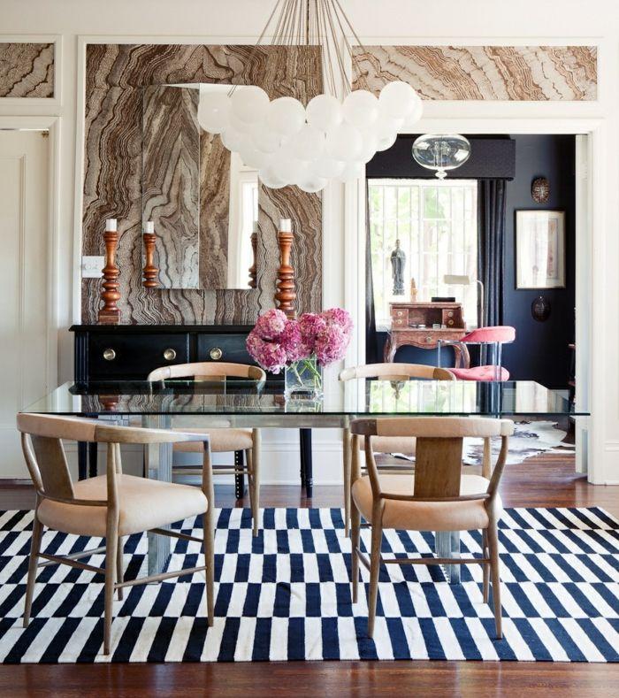 25 Tapeten Ideen, wie man die Wände zu Hause gestaltet Living