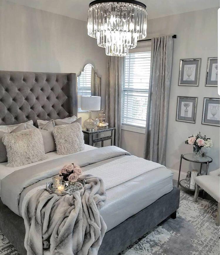 Pinterest Instagram Elchocolategirl Grey Bedroom Decor Luxurious Bedrooms