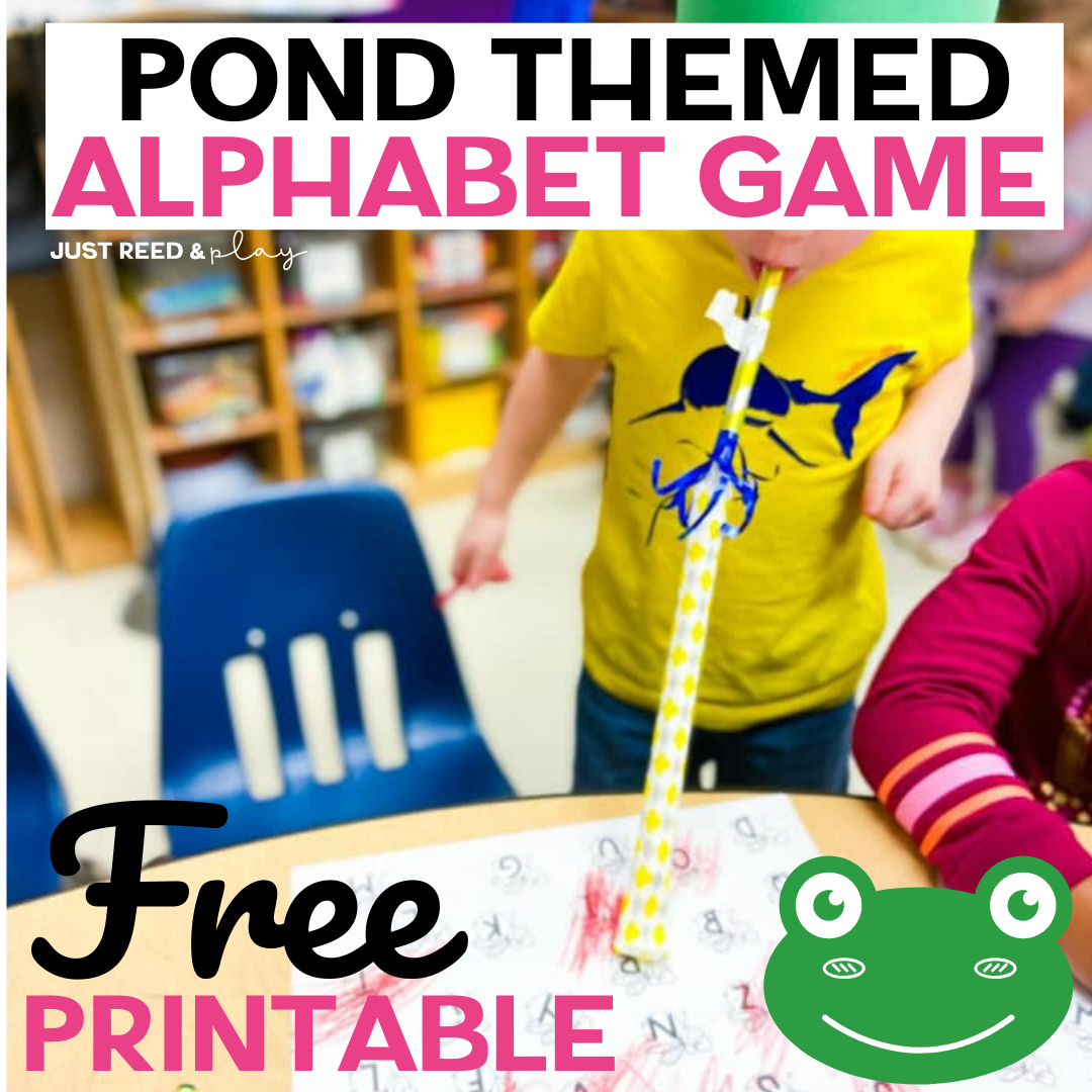 The Best Alphabet Game For A Preschool Pond Theme In