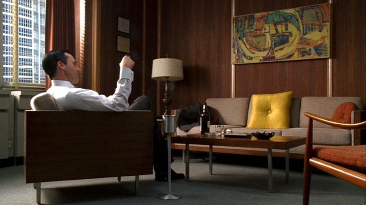 mad men furniture don drapers office - Mad Man Furniture