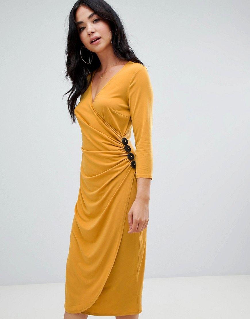 Kleid gelb asos