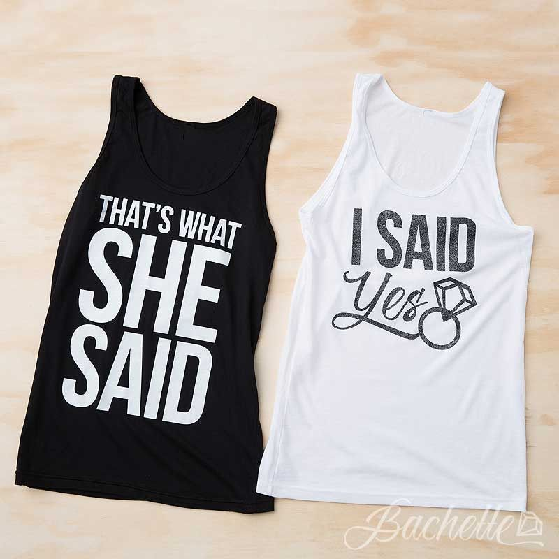 Funny Bachelorette Party Tank Tops I