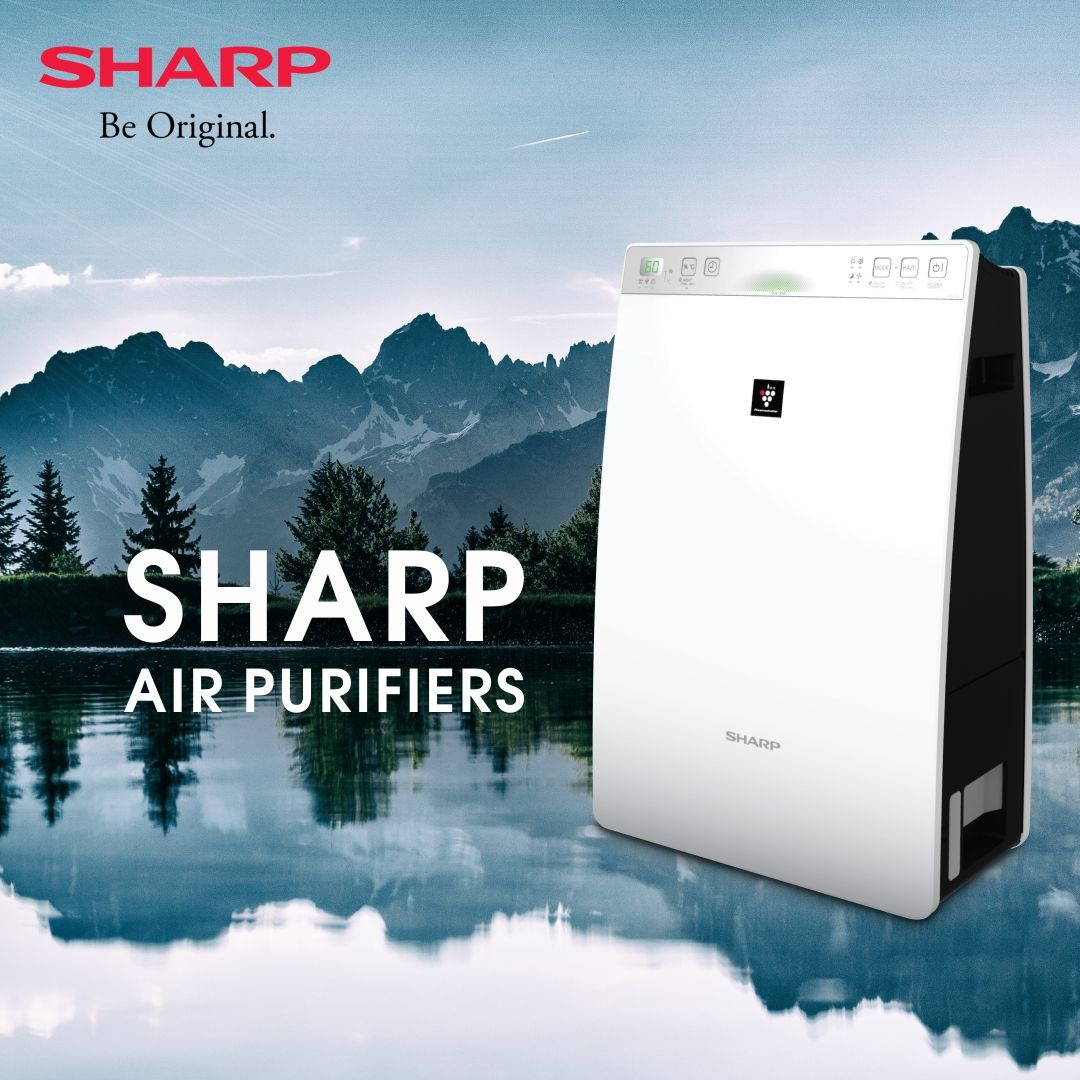 Sharp AirPurifier KCF30EW with Class H14 HEPA Filter