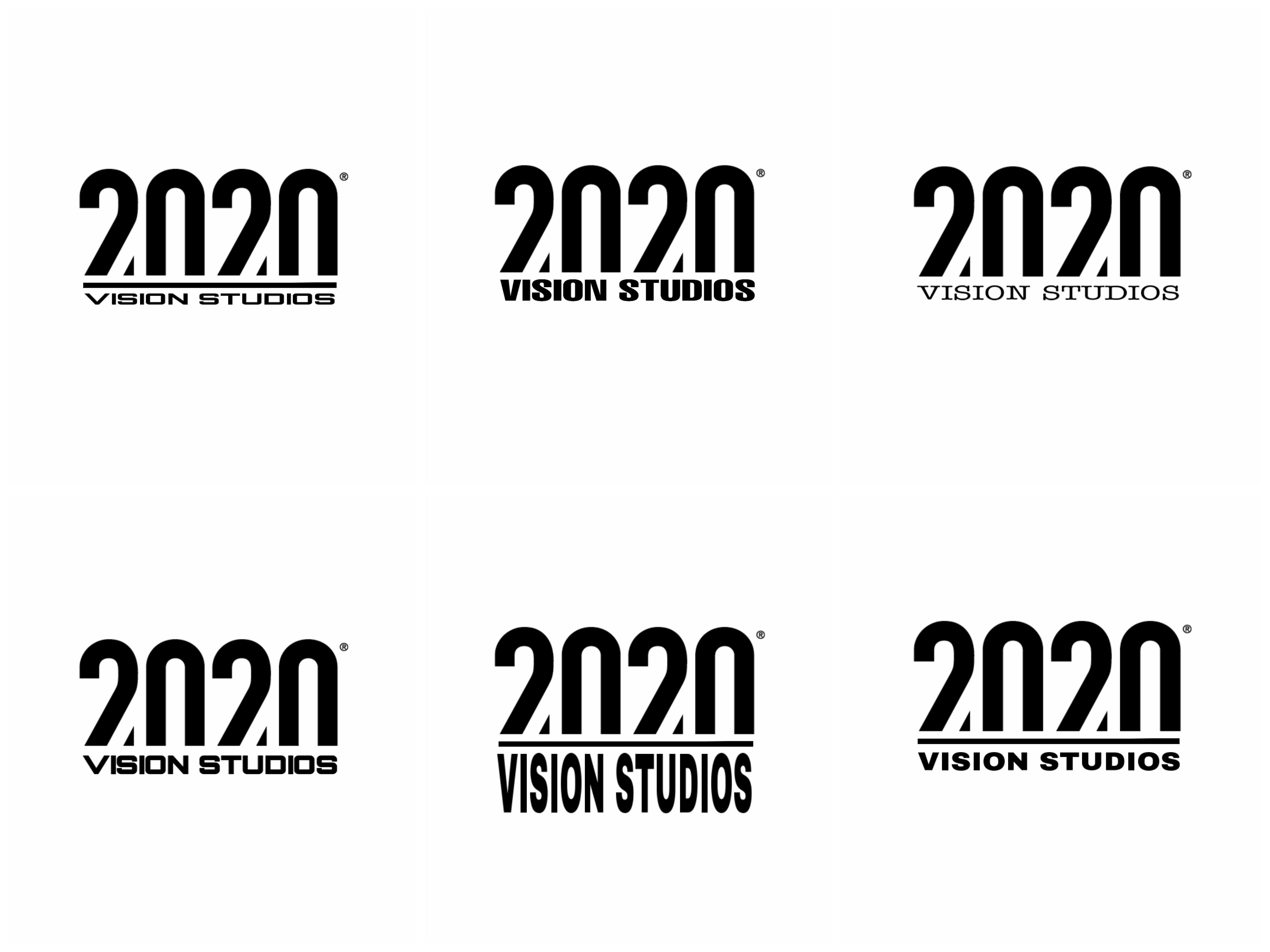 Logo designs for 2020 vision studios ,due to be ...