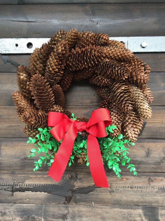 Hey, I found this really awesome Etsy listing at https://www.etsy.com/nz/listing/462983322/pine-cone-wreath-christmas-wreath-winter