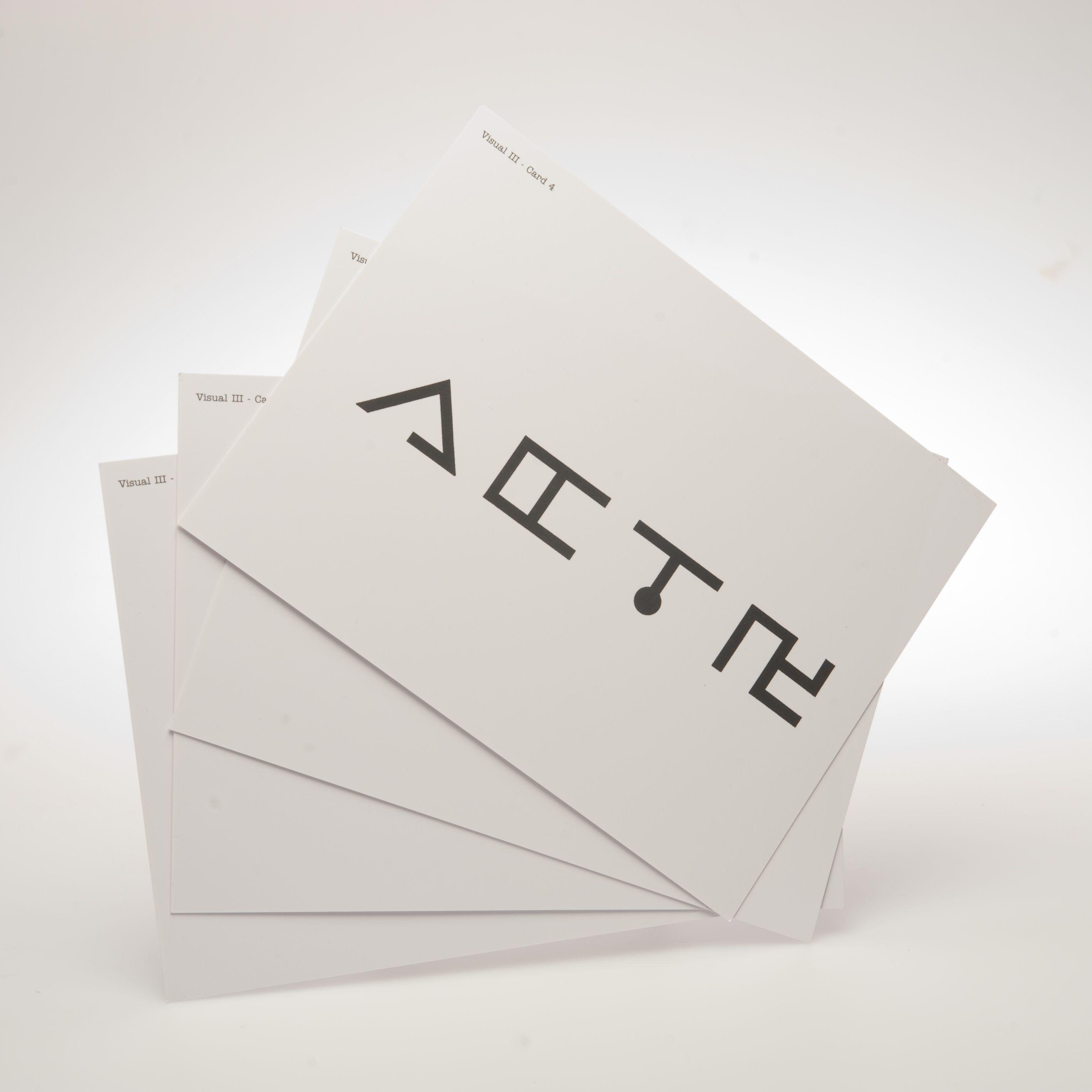 Visual Iii Cards