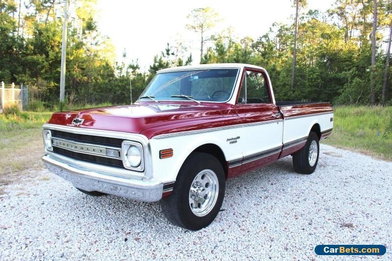 1969 Chevrolet C 10 Ls1 Swap Custom Camper C 20 Pickup Truck 130
