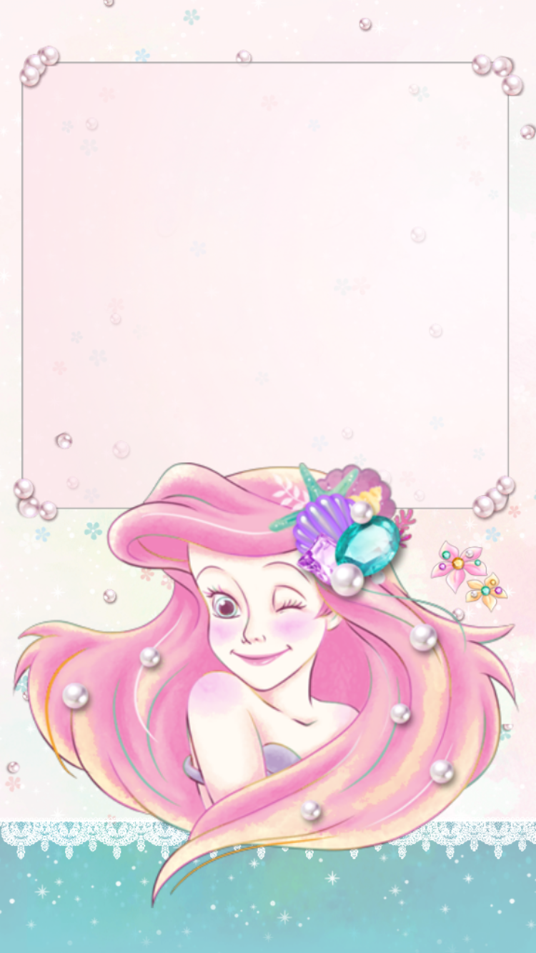 iPhone Wall Disney tjn Mermaid wallpapers, Mermaid