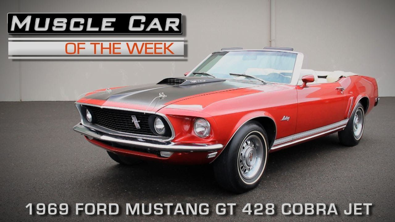 Muscle Car Of The Week Video Episode 149 1969 Ford Mustang Gt