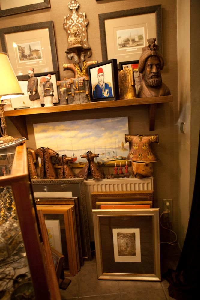 Paintings And Other Objets D Art At Sofa Antiques In Istanbul