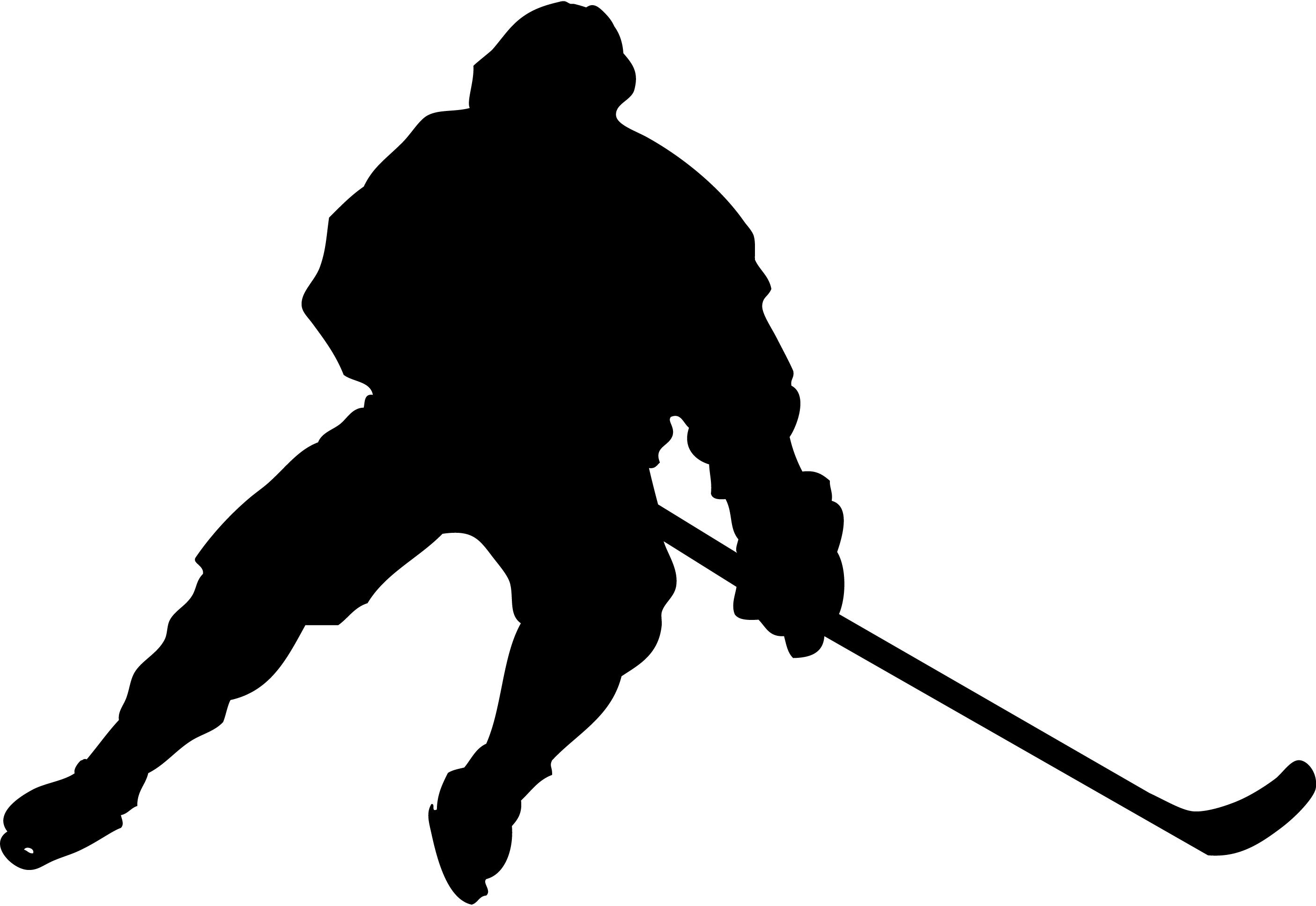 Silhouette Of A Hockey Goalie Making A Glove Save Description From Gettyimages Com I Searched For This On Bing Com Images Hockey Players Hockey Silhouette