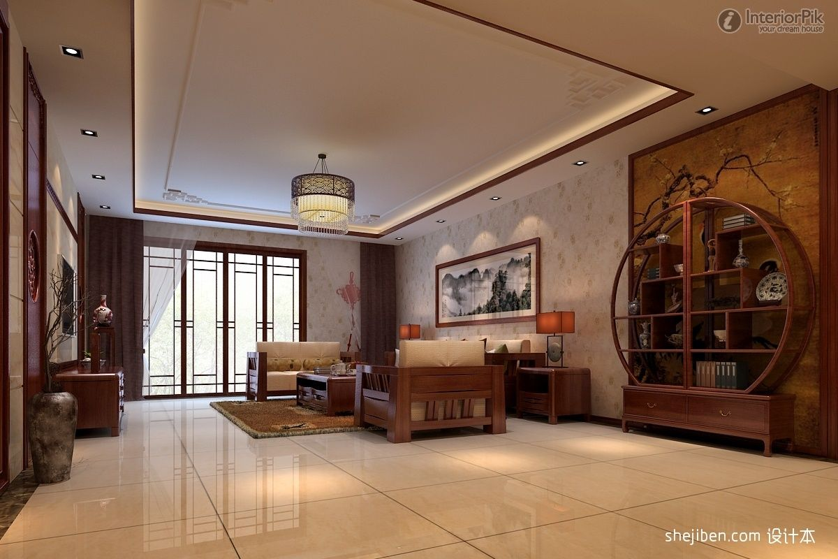 Antique Living Room Designs Chinese Antique Interiors  Picture Of Chinese Style Living Room