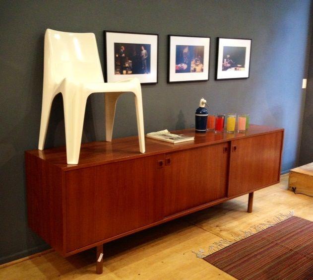Credenza de madera, vintage, danesa, originales, decada muebles ...