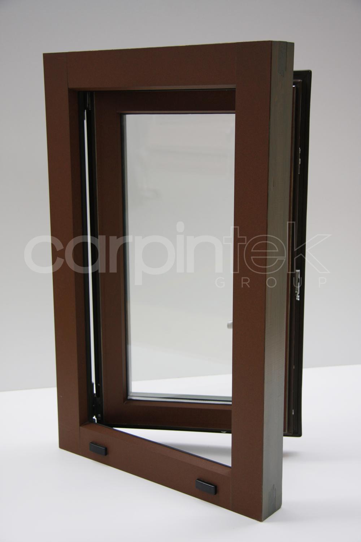 Nuestra Ventana De Madera Aluminio Inteligente Inteltek Un  ~ Contraventanas Aluminio Leroy Merlin