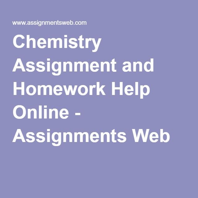 organic chemistry assignment
