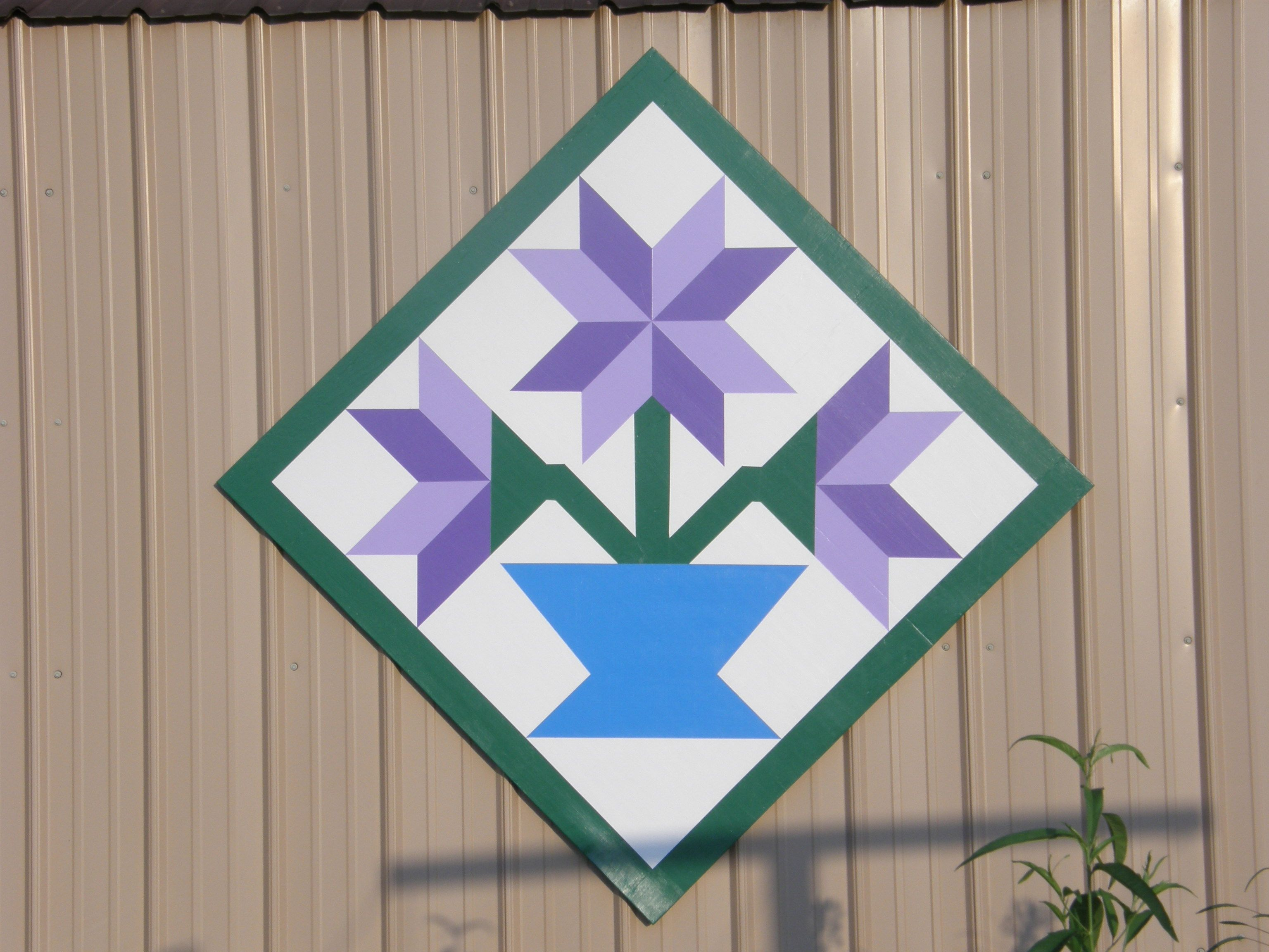 flower barn quilt … | Pinteres… : quilt block barn signs - Adamdwight.com